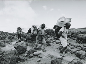 Walking Up Kilimanjaro